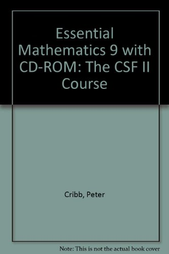 9780521625944: Essential Mathematics 9 with CD-ROM: The CSF II Course