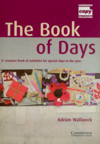 9780521626125: The Book of Days Teacher's Book: A Resource Book of Activities for Special Days in the Year