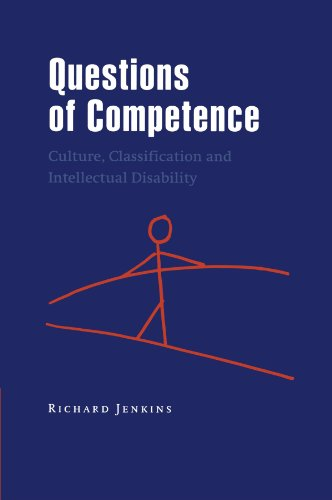 Questions of Competence: Culture, Classification and Intellectual Disability