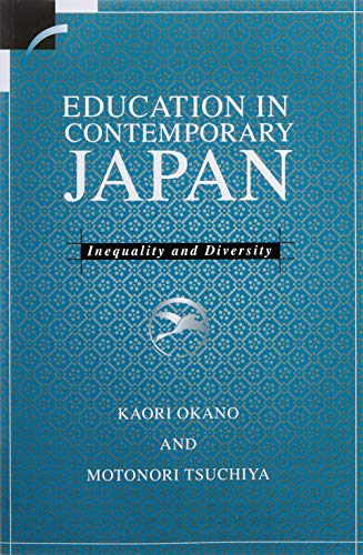 9780521626866: Education in Contemporary Japan Paperback: Inequality and Diversity (Contemporary Japanese Society)