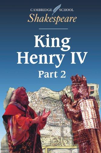 9780521626880: King Henry IV (Cambridge School Shakespeare)