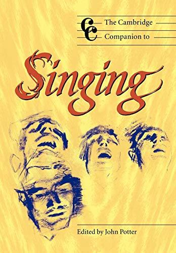 9780521627092: The Cambridge Companion to Singing (Cambridge Companions to Music)