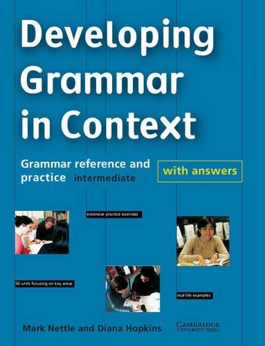 9780521627122: Developing Grammar in Context Intermediate with Answers: Grammar Reference and Practice