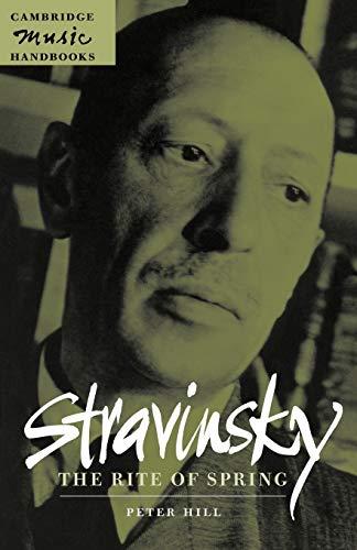 9780521627146: Stravinsky: The Rite of Spring (Cambridge Music Handbooks)