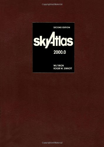 9780521627627: Sky Atlas 2000.0 2ed Deluxe Edition: Twenty-six Star Charts, Covering Both Hemispheres, and Seven Detailed Charts of Selected Regions