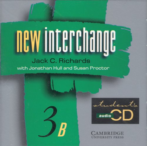 9780521628310: New Interchange Student's CD 3B: English for International Communication (New Interchange English for International Communication)