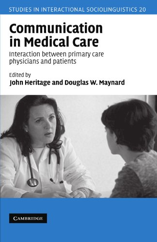 9780521628990: Communication in Medical Care: Interaction between Primary Care Physicians and Patients
