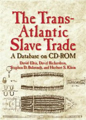 9780521629102: The Trans-Atlantic Slave Trade: A Database on CD-ROM