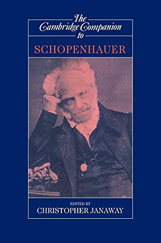 9780521629249: The Cambridge Companion to Schopenhauer (Cambridge Companions to Philosophy)