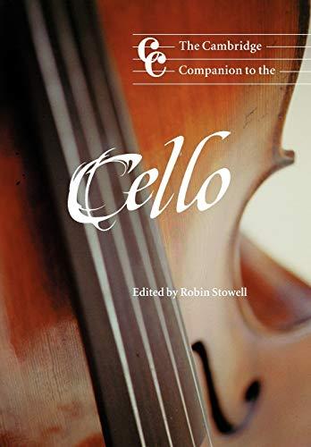 9780521629287: The Cambridge Companion to the Cello (Cambridge Companions to Music)