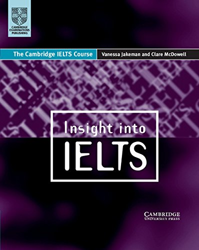 9780521629317: Insight into IELTS: The Cambridge IELTS Course: Student's Book