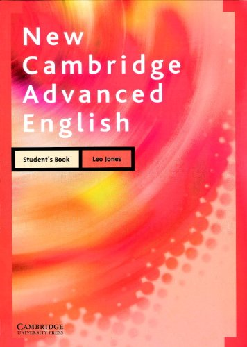 9780521629393: New Cambridge Advanced English Student's book