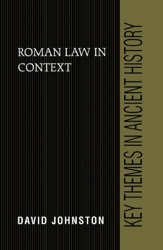 9780521630467: Roman Law in Context (Key Themes in Ancient History)
