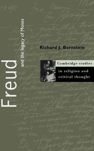 9780521630962: Freud and the Legacy of Moses (Cambridge Studies in Religion and Critical Thought)