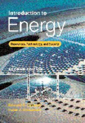 9780521631068: Introduction to Energy: Resources, Technology, and Society