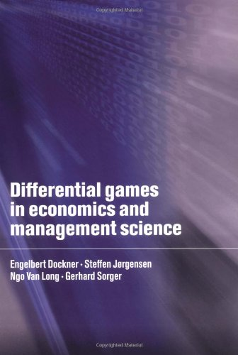 9780521631259: Differential Games in Economics and Management Science