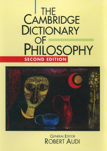 9780521631365: The Cambridge Dictionary of Philosophy