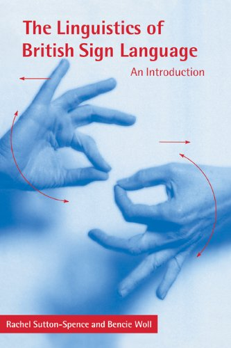 9780521631426: The Linguistics of British Sign Language: An Introduction