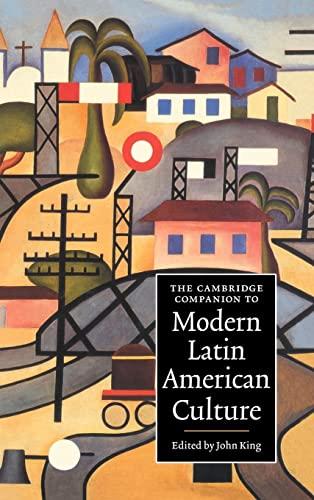 9780521631518: The Cambridge Companion to Modern Latin American Culture (Cambridge Companions to Culture)