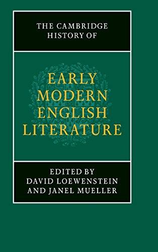 9780521631563: The Cambridge History of Early Modern English Literature Hardback (The New Cambridge History of English Literature)
