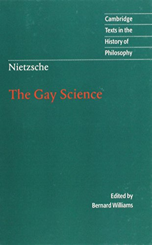 9780521631594: Nietzsche: The Gay Science: With a Prelude in German Rhymes and an Appendix of Songs (Cambridge Texts in the History of Philosophy)
