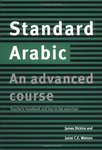 9780521631617: Standard Arabic: An Advanced Course, Teacher's Handbook
