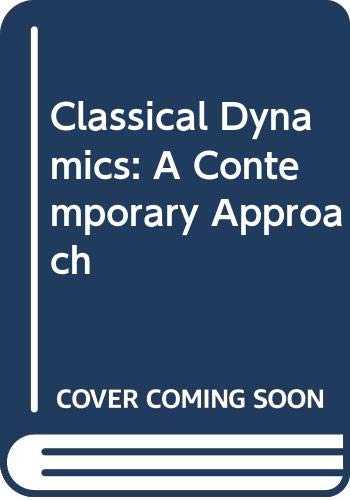 9780521631761: Classical Dynamics: A Contemporary Approach