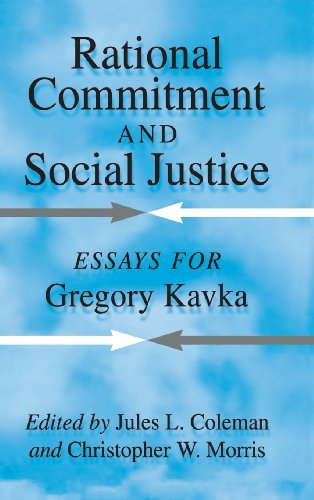 9780521631792: Rational Commitment and Social Justice: Essays for Gregory Kavka