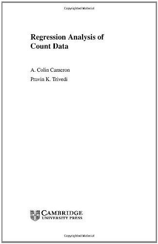 9780521632010: Regression Analysis of Count Data (Econometric Society Monographs)