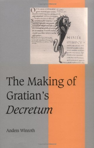 9780521632645: The Making of Gratian's Decretum