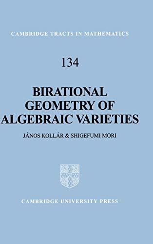 9780521632775: Birational Geometry of Algebraic Varieties (Cambridge Tracts in Mathematics)