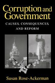 9780521632935: Corruption and Government Hardback: Causes, Consequences, and Reform