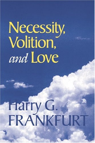 9780521632997: Necessity, Volition, and Love