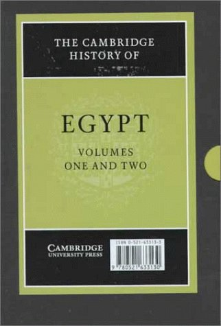 The Cambridge History of Egypt (2 Volume: Petry, Carl F.,