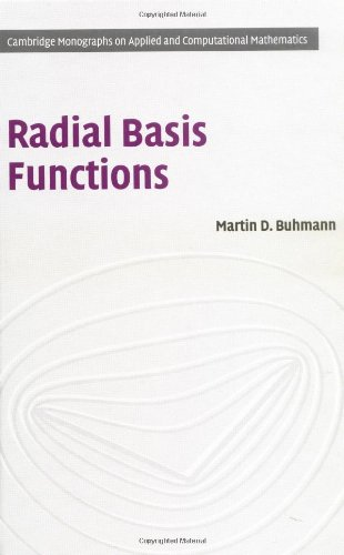 9780521633383: Radial Basis Functions: Theory and Implementations (Cambridge Monographs on Applied and Computational Mathematics)