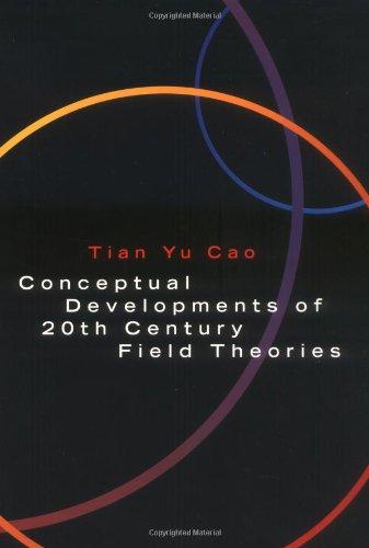 9780521634205: Conceptual Devel 20C Field Theories