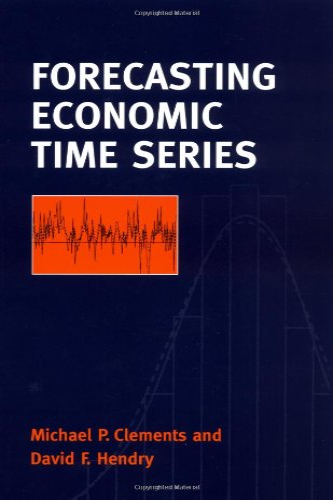 9780521634809: Forecasting Economic Time Series Paperback