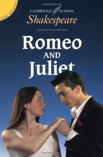 9780521634977: Romeo and Juliet (Cambridge School Shakespeare)