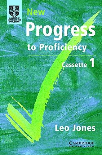 New Progress to Proficiency, Cassette 1: Leo Jones
