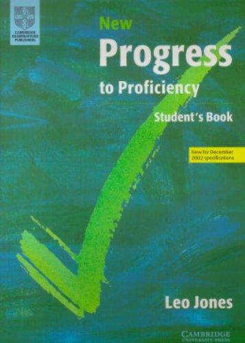 9780521635530: New Progress to Proficiency Student's book (Cambridge Books for Cambridge Exams)