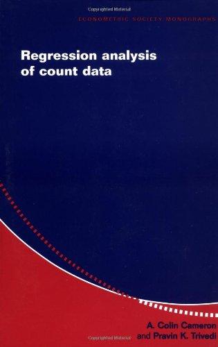 9780521635677: Regression Analysis of Count Data Paperback (Econometric Society Monographs)