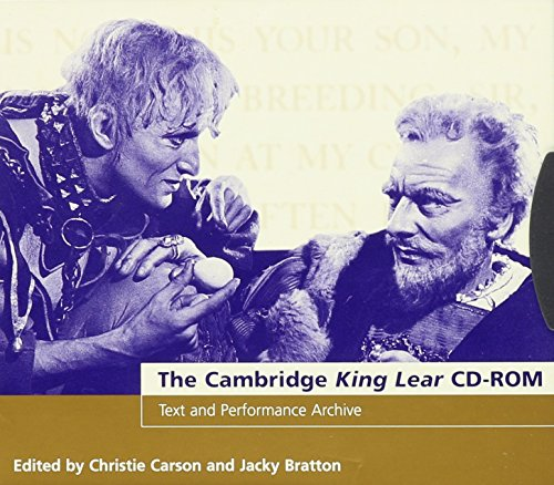 The Cambridge King Lear CD-ROM (Compact Disc): William Shakespeare