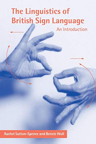 9780521637183: The Linguistics of British Sign Language: An Introduction
