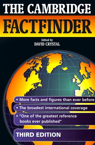 9780521637701: The Cambridge Factfinder