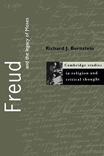 9780521638777: Freud and the Legacy of Moses (Cambridge Studies in Religion and Critical Thought)