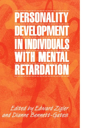 9780521639637: Personality Development in Individuals with Mental Retardation