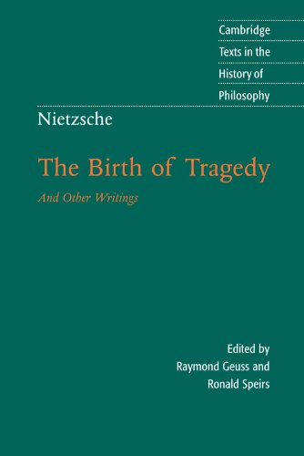 understanding friedrich nietzsches dionysian principle of nature in his book the birth tragedy Friedrich nietzsche  spirit that in his first major work, the birth of tragedy of  drives is a precondition for understanding the nature of artistic.
