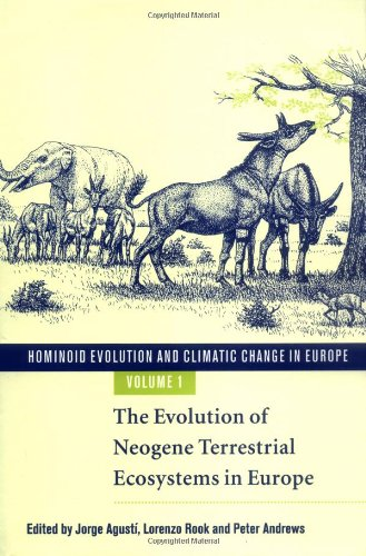 9780521640978: Hominoid Evolution and Climatic Change in Europe: Volume 1, The Evolution of Neogene Terrestrial Ecosystems in Europe (v. 1)