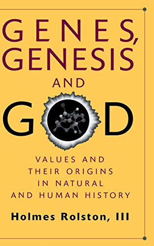 9780521641081: Genes, Genesis, and God: Values and their Origins in Natural and Human History