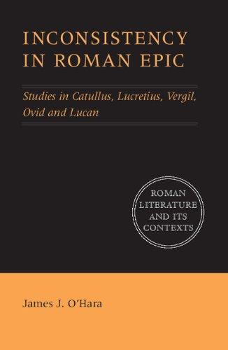 Inconsistency in Roman Epic.: O'HARA, J. J.,